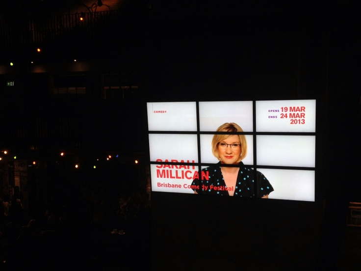 BrisComFest 2012 Gallery | The Punter's Callback  UK comedian Sarah Millican comes to Brisbane.