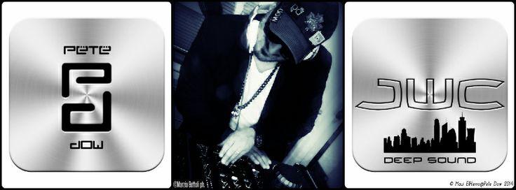 """Nuova collaborazione di Pete Dow aka William Cataldo con il dj Producer Joseph Britanni con nuovo logo personale e nuovo album in uscita prossimamente """"JWC DEEP SOUND"""""""