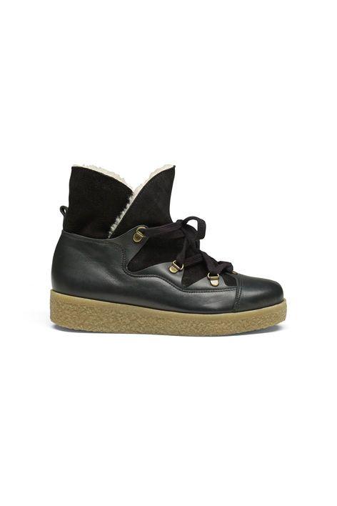 Masha Texas Boots, Black