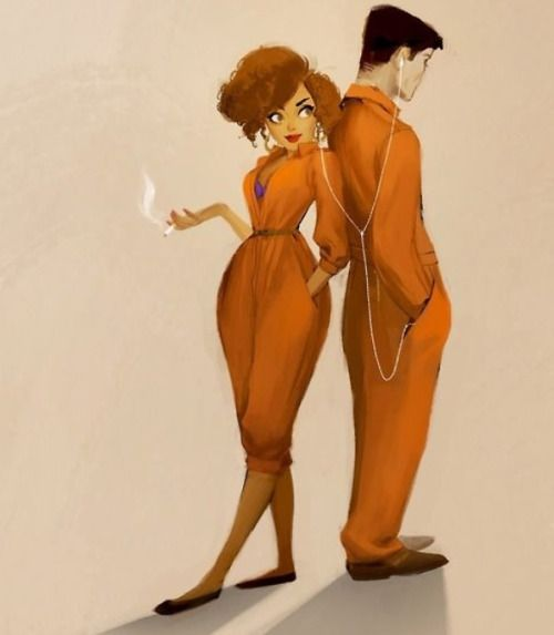 Misfits Alisha and Simon