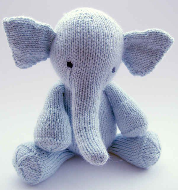 Elijah the Elephant | 20 Adorable Handmade Stuffed Animals You Need To Hug Right Now
