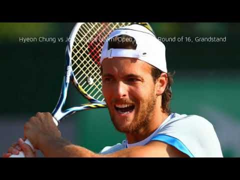 Hyeon Chung vs Joao Sousa Miami Open results | Round of 16, Grandstand