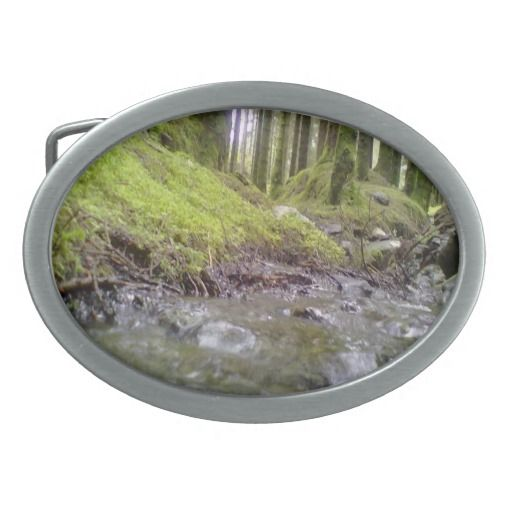 Forest & Water Belt Buckles