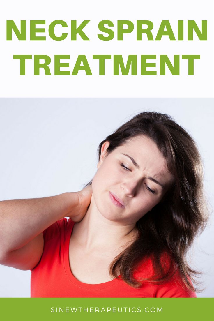 Neck Sprain Treatment - If you have swelling or inflammation, massage with Acute Sinew Liniment to relieve pain, reduce swelling and inflammation, break up clotted blood and stagnant fluids, and stimulate circulation of blood and fluids to help cells quickly repair damaged tissues. Sinew Therapeutics offers a full line of Sports Injury and Rehabilitation products proven for fast pain relief and quick recovery.