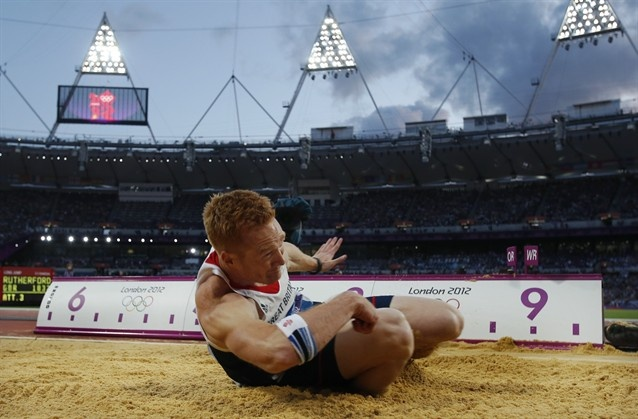 Greg Rutherford nails the long jump to win gold