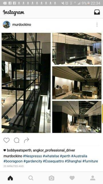 #Nespresso #Whatelse #Perth #Booragon #gardencity #Essequattro #Shanghai #furniture