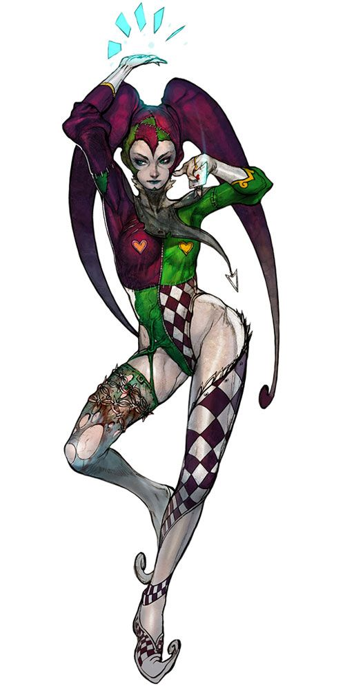 Joker Redd from The Soulless