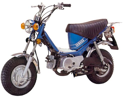yamaha chappy mopeds and scooters pinterest. Black Bedroom Furniture Sets. Home Design Ideas