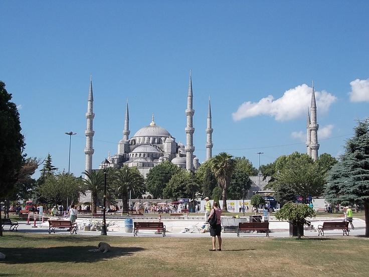 Moscheia Albastra din Instanbul - Luca Andreea.