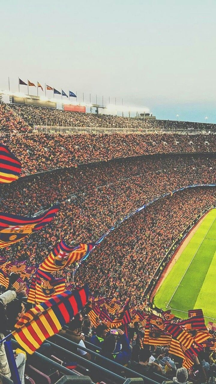 Camp Nou. European Football