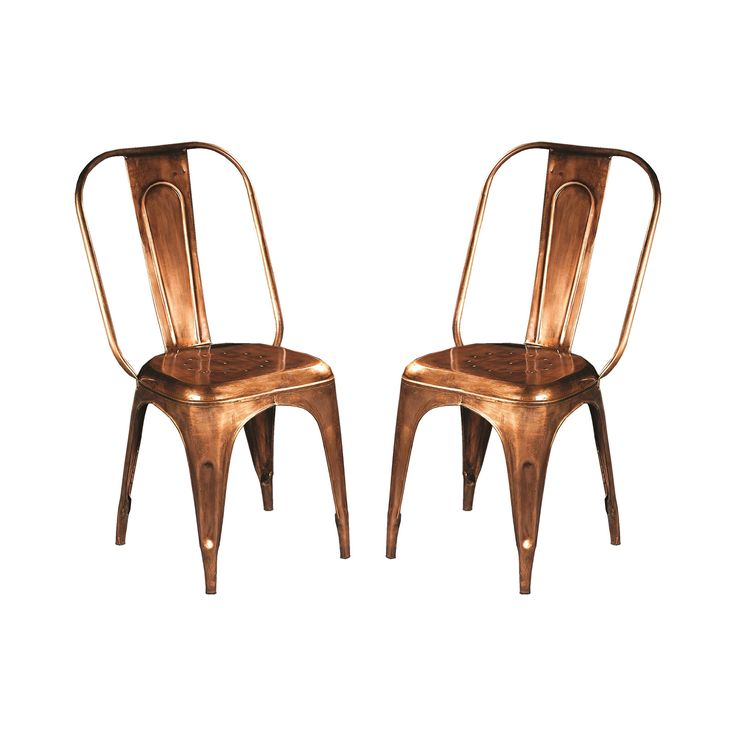 burnished stacking chairs set of 2 250