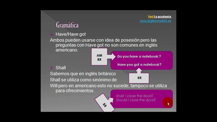 Aprende las diferencias entre inglés británico y americano en este vídeo.