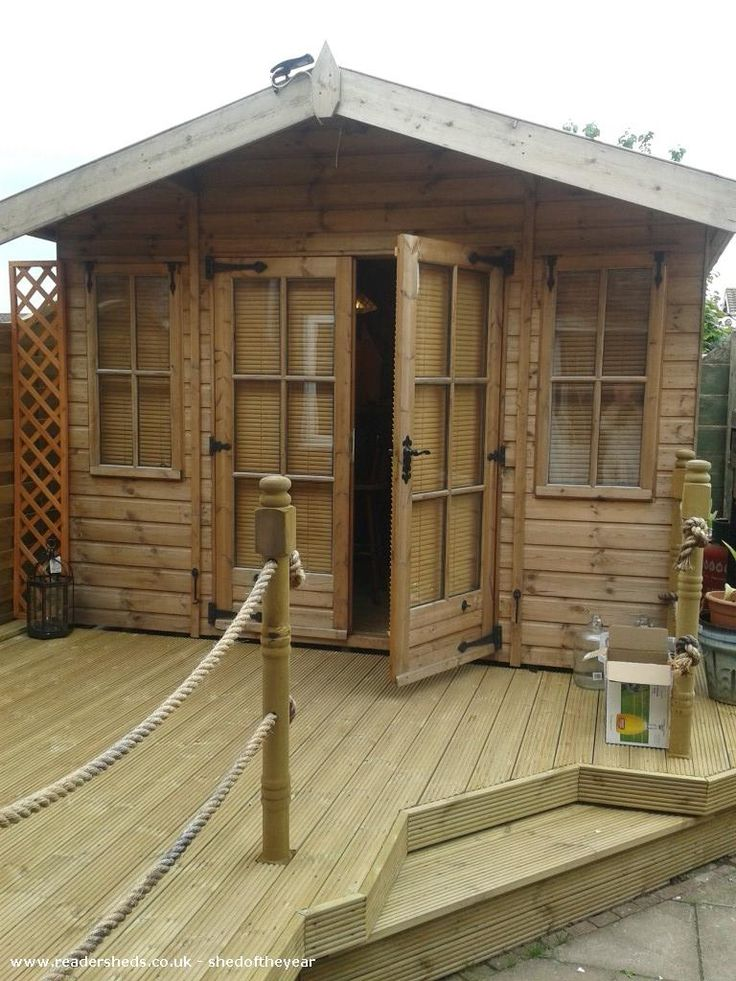The Dog House is an entrant for Shed of the year 2015 via @unclewilco  #shedoftheyear