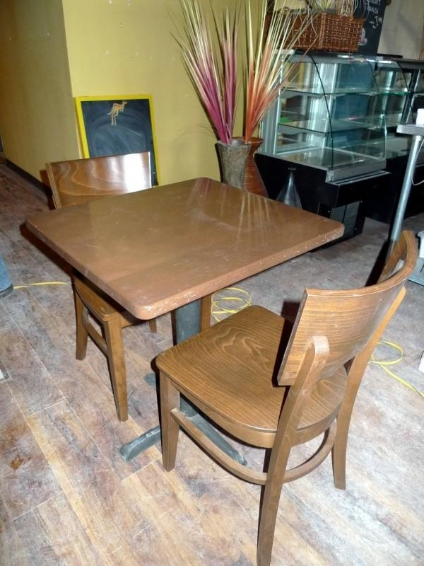 Table And Chairs Found On MaxSold Kingston Restaurant Liquidation Auction
