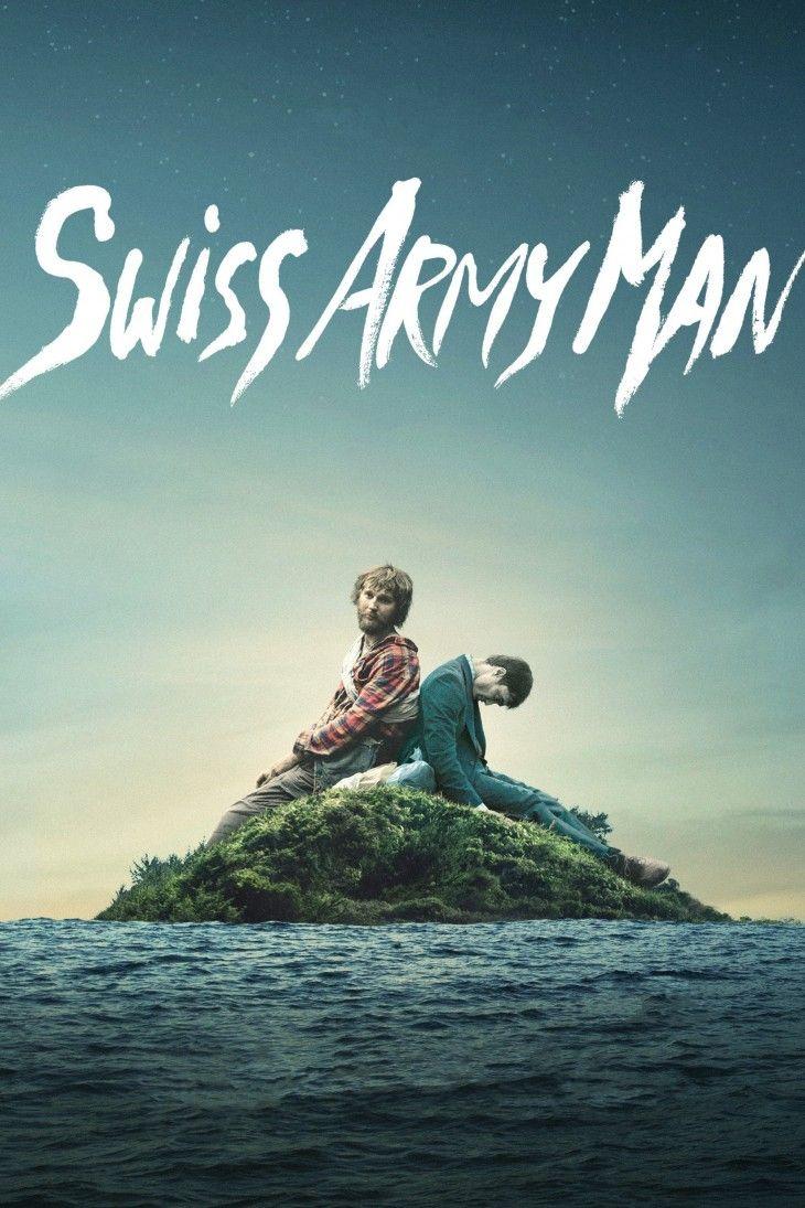 Swiss Army Man (2016) de Dan Kwan y Daniel Scheinert (http://ultracuerpos.com/fichas/swiss-army-man-2016-dan-kwan-daniel-scheinert/) #Película #DanKwan #DanielScheinert #Poster