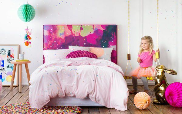 Colour their rooms with Mexsii Kids' Bedheads