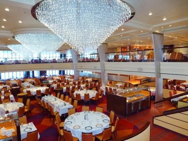 Blush Dining Room (Decks 3 U0026 4 Aft) Cuisine: Continental Dress Code: Part 70