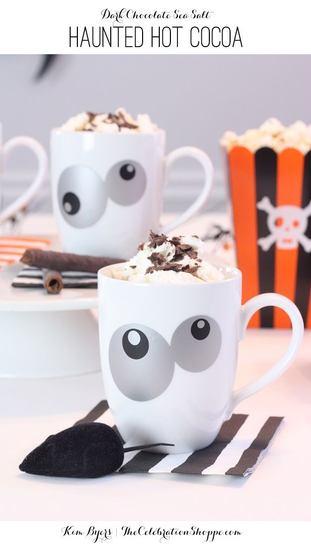 Haunted Hot Cocoa & More Fun Halloween Ideas | Kim Byers, http://TheCelebrationShoppe.com