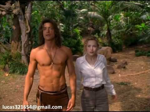 "▶ Brendan Fraser, the hottest ""tarzan"" ever! - YouTube"