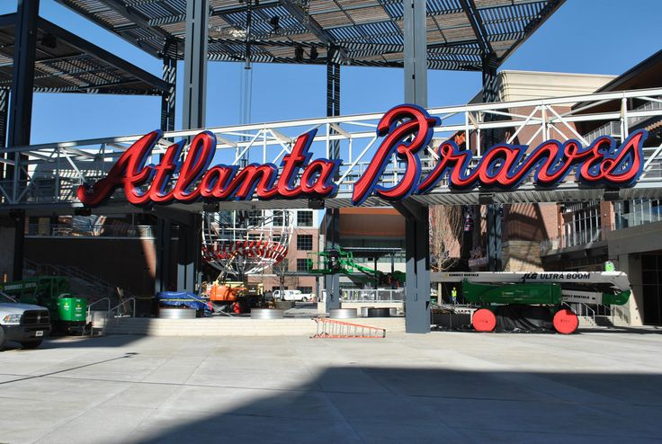 A sneak peek into Suntrust Park | 11alive.com first game was last night!