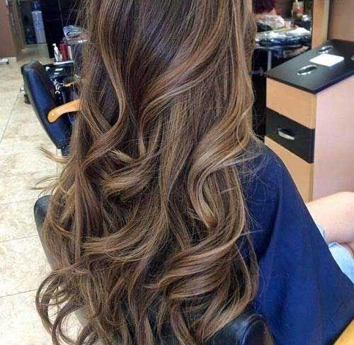 cabelos com sombre