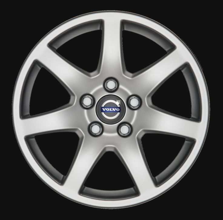 Naos 16 x 7 Volvo #30748344 (color 938 Silverstone), Offset 50mm, 8.2kg, stamped 30666081