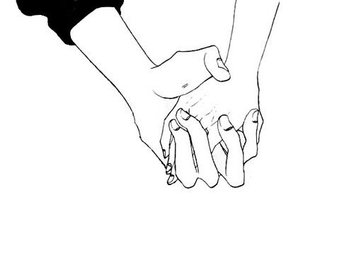I will always take your hand.