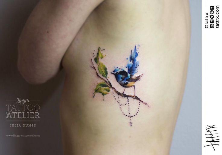 Julia Dumps | Linz Austra #tattoo #ink #bird
