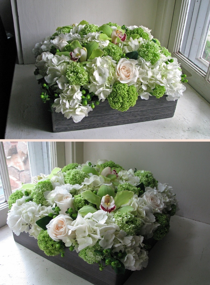 Low box  Flowers By: Steven Bruce Design