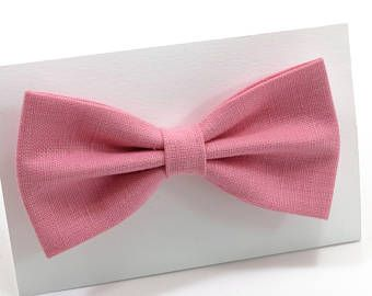 Pink Bow Tie For Men ,Bow Tie For Boy's, Bow Tie For Toddler's,Mini For Baby's