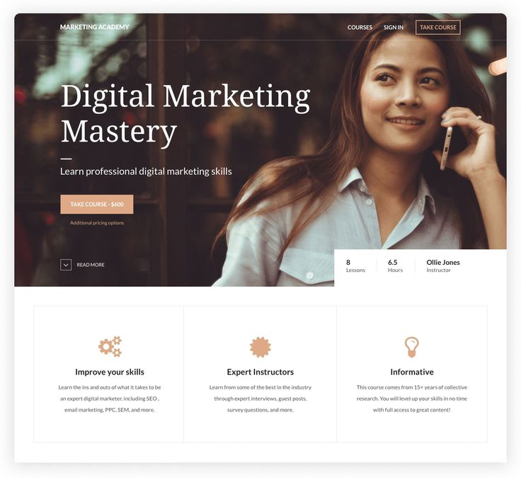 Digital Marketing Mastery on Tablet. Create, market, and sell courses online from your own website Thinkific brings beautifully simple course creation to your company. Whether you are educating 10 students or 10 million, feel confident that you've got the easiest technology and the best support in the business. #affiliate #thinkific #coursecreation #onlinecourses #digitalproducts #digitalmarketing #passiveincome