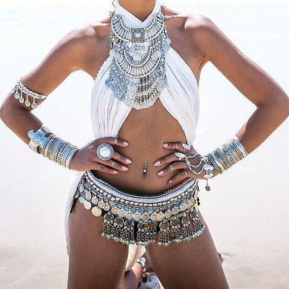Burning Man, Festival Clothing, Burning Man Clothing Women, Rave Outfit, Rave Bra, Music Festival Clothing, Gypsy Clothing, EDC Outfit