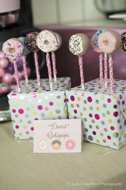 Donuts Baby Shower Party Ideas Cakepops Cakes And Party