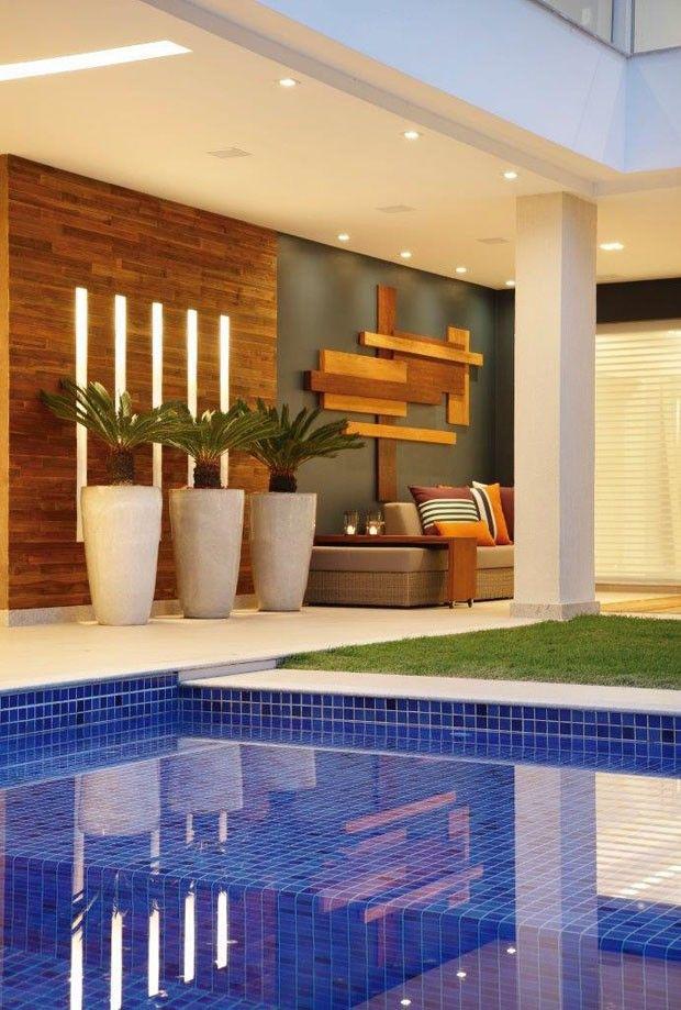 Casa na na Barra da Tijuca (Foto: MCA Estúdio/Divulgação)