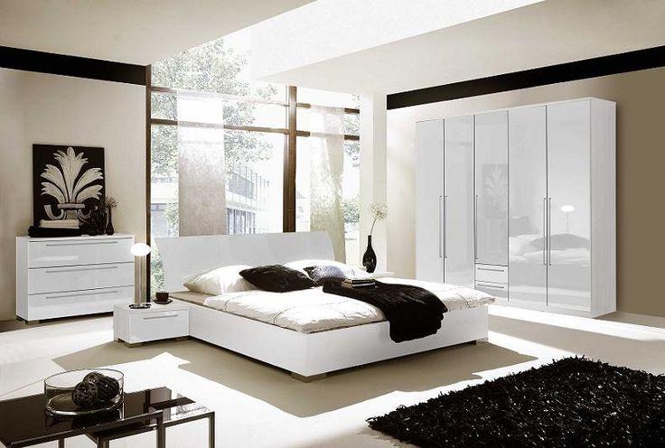 Biała sypialnia  #białasypialnia #dodatkidosypialni #DecoArt24