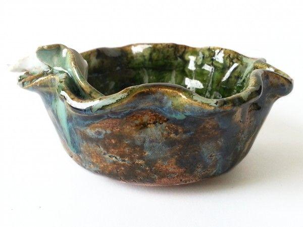 Miseczka ceramiczna z kalią 04