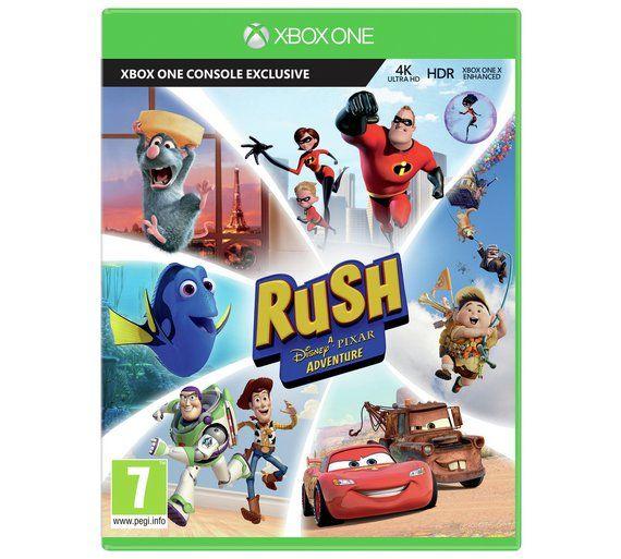 Buy Rush: A Disney Pixar Adventure Xbox One Game at Argos.co.uk, visit Argos.co.uk to shop online for Xbox One games, Xbox One, Video games and consoles, Technology