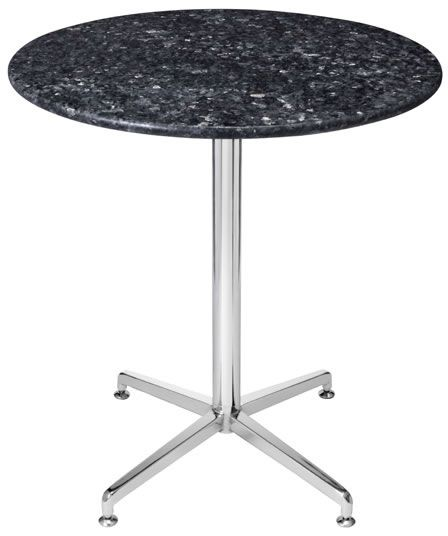 Payson marble, granite round,square dining kitchen table chrome or stainless steel frame