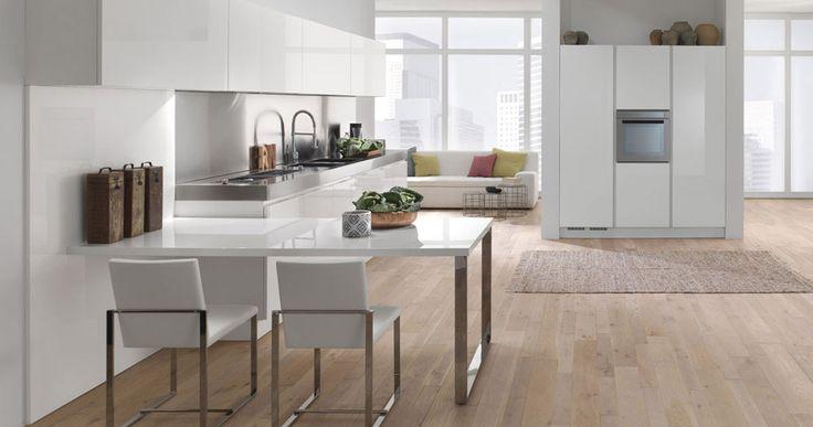 Mobili per cucina cucina b 50 a da berloni for Tavoli per cucine moderne