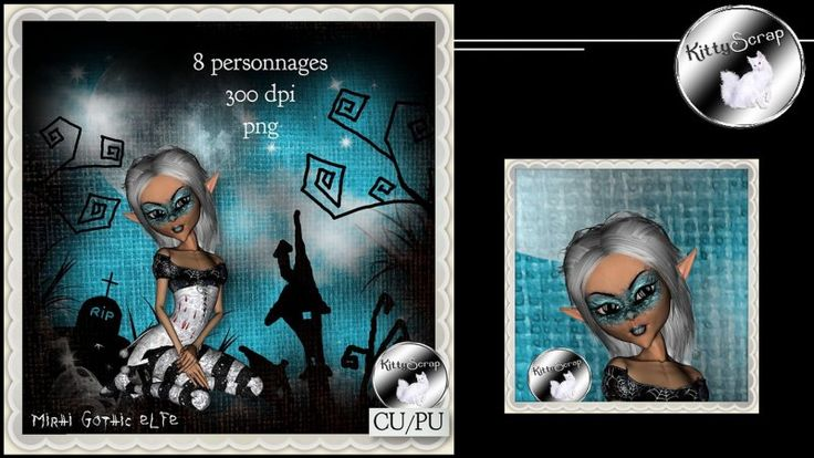 CU Mirhi Gothic Elf vol.1 by kittyscrap