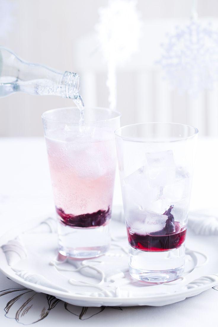 Gin-tonic met hibiscus