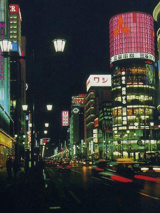 昭和スポット巡り on Twitter 昭和40年代 銀座