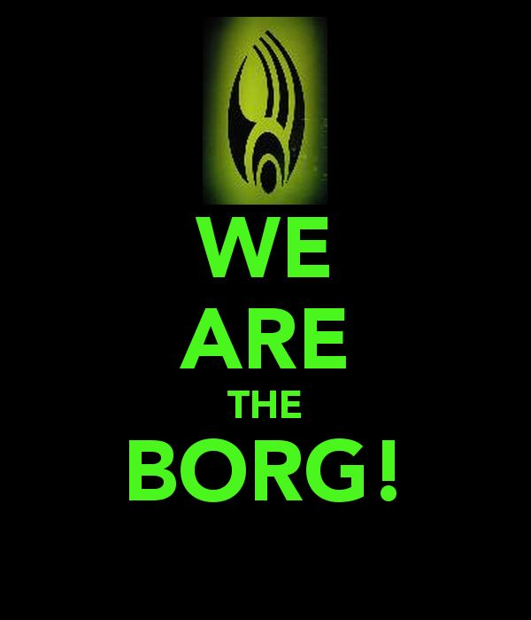 203 best resistance is futile images on pinterest star - We are the borg quote ...