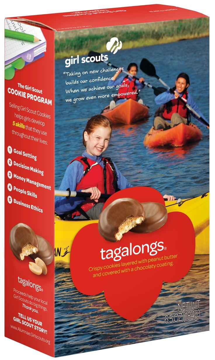 biscotti delle ragazze scout