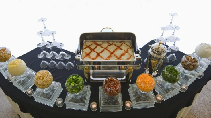 Mashed Potato Station Special Events Pinterest