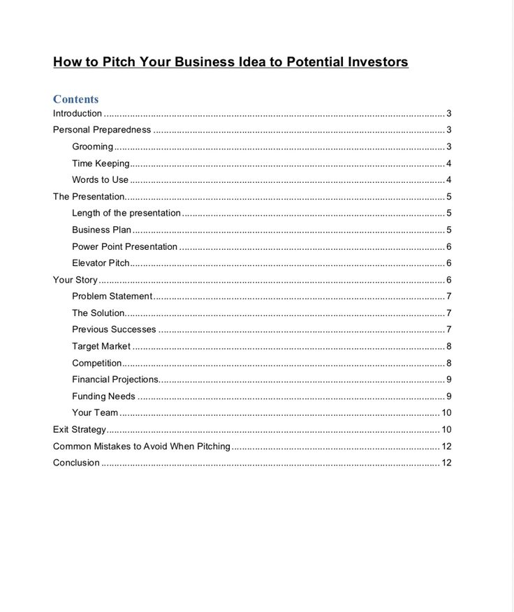 Food Truck Business Plan Template Sample Pages Food