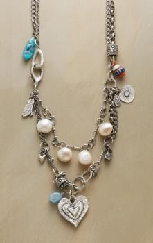 The design of this Jes MaHarry trade bead necklace speaks to essential beauty.