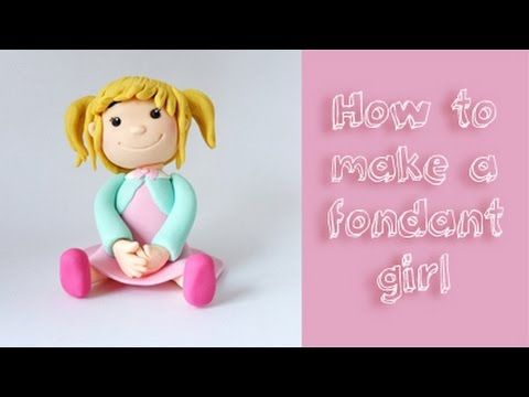 My tutorial on how to make this cute little girl out of fondant. Please subscribe if you like it :) Facebook: https://www.facebook.com/cakedecoratingvids Mój...