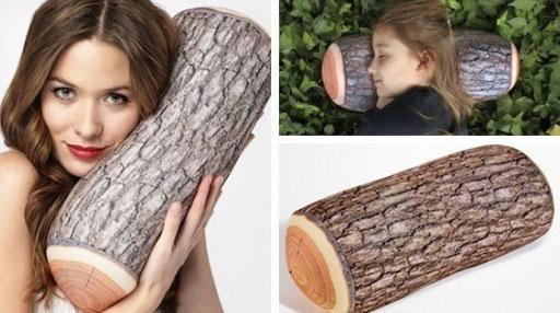 Regala por Navidad un tronco para dormir