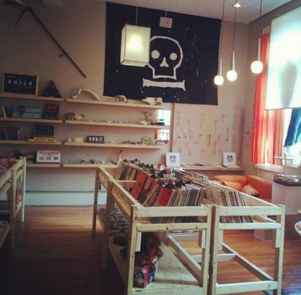Graveface Records and Curiosities, Savannah.